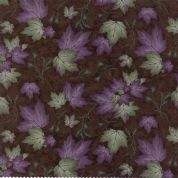 Moda - Summer on The Pond by Holly Taylor - 5730 - Maple Leaves on Brown  - 6722 19 - Cotton Fabric